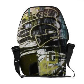 Skåpbil En roid - San Francisco grafittilastbil Messenger Bag