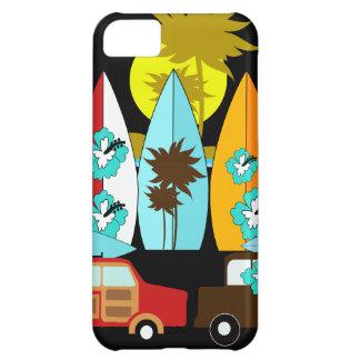 Skåpbilar för Hippie för surfare för iPhone 5C Fodral