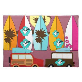 Skåpbilar för Hippie för surfingbrädastrand dåliga Bordstablett