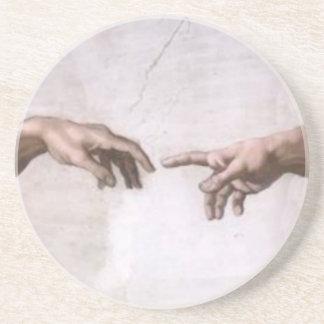 Skapelse av Adam (specificera-händer) Underlägg