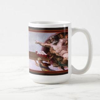Skapelsen av öl Pong Kaffemugg