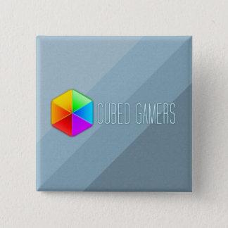 Skära i tärningar Gamers kvadrerar klämmer fast Standard Kanpp Fyrkantig 5.1 Cm