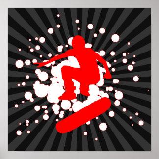 skateboard: bubblar: poster