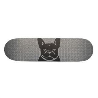 Skateboard för FRENCHIE FLEUR DE LIS kolgrå färg