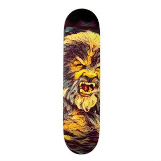 Skateboard för vargmanAirbrush