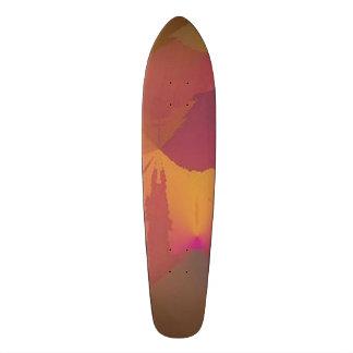 """Skateboard vin/guld för design 2 """"för ingen"""