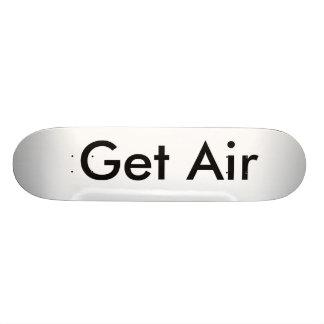 Skateboarden - få luft