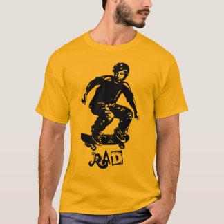 Skateboarder för skaterpojkeRad T Shirt