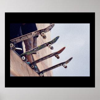 Skateboarding affisch