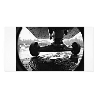 Skateboarding foto fotokort