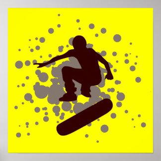skateboarding hög-fi: bubblar: poster