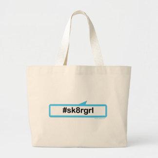 Skaterflicka Tote Bag