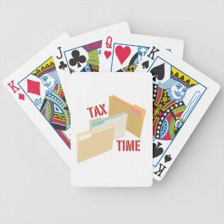Skatt Time Spelkort