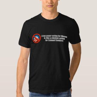 Skattebetalareröstningen för Obama är något liknan T Shirt
