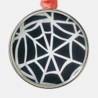 Skeezer vit och svartvit St för svartrandar Julgransprydnad Metall