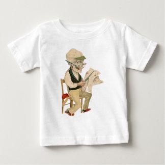Skeletal redaktör t shirt