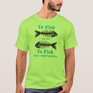 Skelett- Cyan som fiskar eller inte som fiskar Tröjor