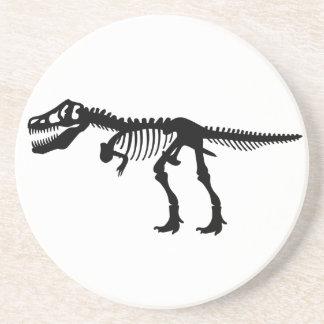 Skelett för TyrannosaursRex Dinosaur Underlägg