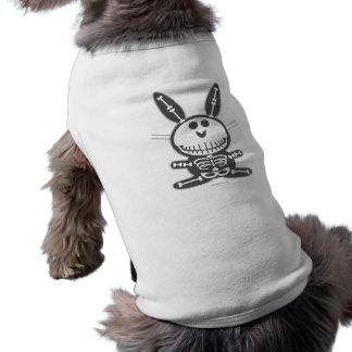 Skelett- kanin husdjurströja