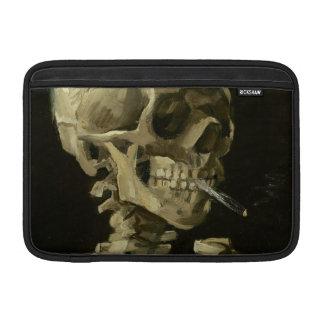 """Skelett med cigarettMacbook luft 1886 11"""", MacBook Air Sleeve"""