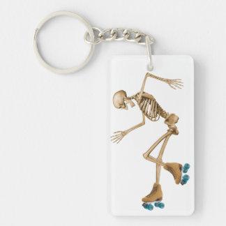 Skelett på rullskridskor