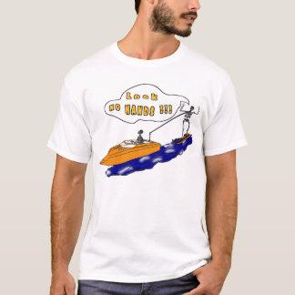 Skelett- ritt t-shirts