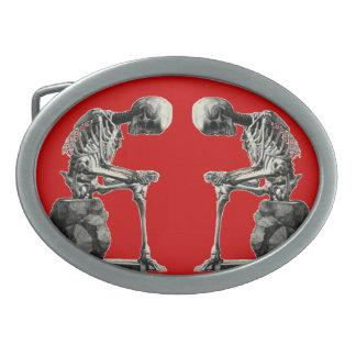 """Skelett- """"tänkare """" för anpassadevintage,"""