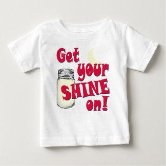 sken på t-shirt