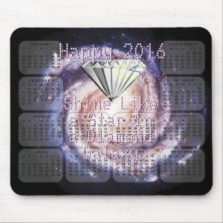 Skennågot liknande för 2016 kalender en musmattor
