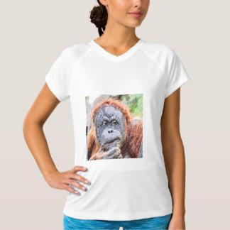 sketchy orang t-shirt