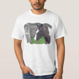 skewbald för manar t-skjorta tee