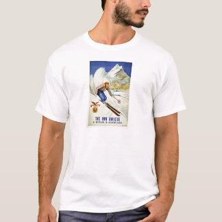 Skida Crawford göra hack i vintage resor T Shirt