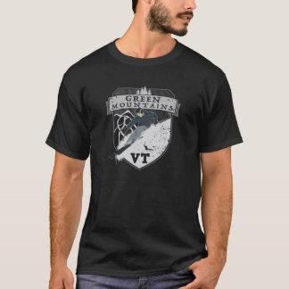 Skida gröna berg, VT Tee Shirt