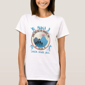 Skida jacken och Jill-Rosor T-shirts