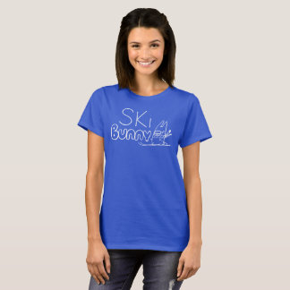 Skida kaninT-tröja T-shirts