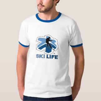 Skida livringerutslagsplatsen t-shirts