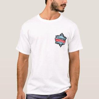 Skida månadsnowflaken tee shirt