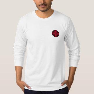 Skida sawmillen skidar patrulllångärmad T Tee Shirt