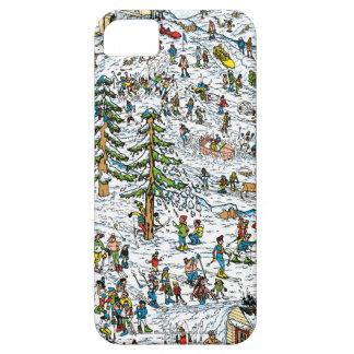 Skida sluttar, var är Waldo iPhone 5 Cases