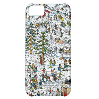 Skida sluttar, var är Waldo iPhone 5C Fodral