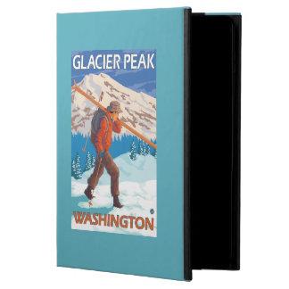 Skidar bärande snö för skieren - den maximala iPad air skydd