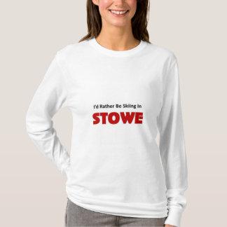 Skidar ganska i stowe t-shirt