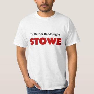 Skidar ganska i stowe t-shirts