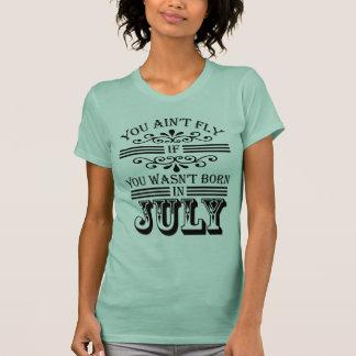 SKILLHAUSE - FLUGA I JULI v2 (det SVART BREV) T Shirt