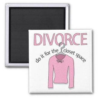Skilsmässa för det hemliga utrymmet magnet