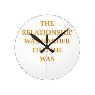 skilsmässa rund klocka