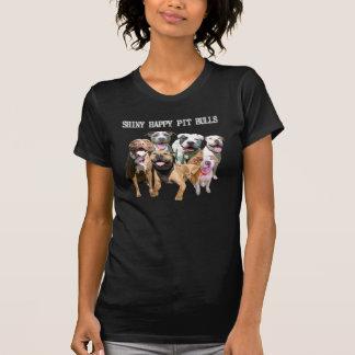 Skina lycklig T-tröja för groptjurmörk Tröja