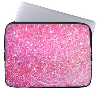 Skina lyx för glitter laptop fodral