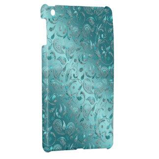 Skina Paisley turkos iPad Mini Mobil Skydd
