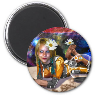 Skina Spacey stollig Magnet